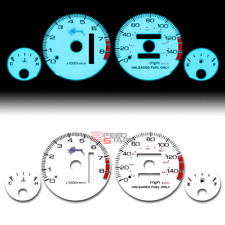 INDIGLO GLOW GAUGE+HARNESS BLUE FACE FOR 94-01 ACURA INTEGRA DC DB RS LS GS AT