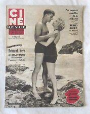 CINE-REVUE 2 octobre 1953 DEBORAH KERR BURT LANCASTER WALT DISNEY PIERRE MONDY