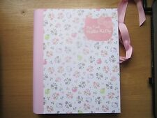 New My First Hello Kitty Baby Record Journal Keepsake Book Girls Pink Gift