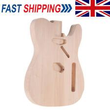 More details for unfinished diy electric guitar body basswood barrel for telecaster guitar parts