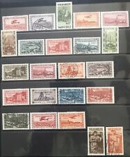 Germany 1928-1934 Saar issues MLH & Used