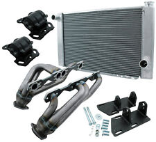 Allstar ALL38251 Conversion Kit S10 V8 TH350 2WD, With Radiator
