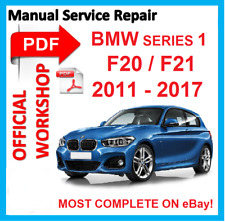 # OFFICIAL WORKSHOP MANUAL service repair FOR BMW series 1 F20 F21 2011 - 2017