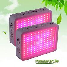 2PC PopularGrow 300W LED Grow Light Kit Design for Commercial Flower&Veg Plant