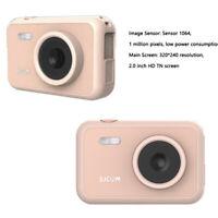 SJCAM FunCam Kids Camera Digitale Action with HD Video Photos Rosa