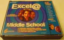 EXCEL@ MIDDLE SCHOOL 6 CD-ROM TEACHER CREATED 12 SUBJECTS 330 INTERACTIVE LESSON