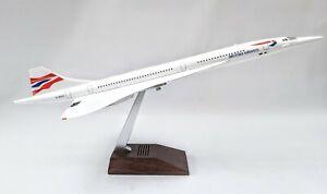British Concorde Large Display Plane Model  Airplane Apx 50cm  Resin 1:120