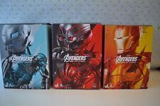 Set of 3: Avengers Age of Ultron Ultron Prime, Iron Man & Ultron Sentry Ver. A