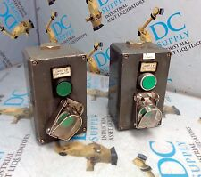 GE CEMA PUSHBUTTON ENCLOSURE LOT OF 2