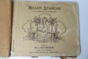 ANTIQUE ANNIE & IDA RENTOUL ILLUSTRATED PAPER BOOK HUTCHINSON MELBOURNE 1906