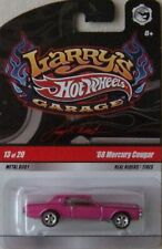 Hot Wheels Larry's Garage #13 Pink '68 Mercury Cougar w/Real Riders