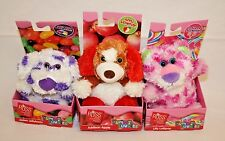 Russ Yummy Luvvies Scented Lollipop Apple Jellybean Stuffed Animals Lot 3