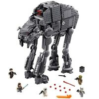 Heavy Assault Walker Star Wars Compatible Lego 75189 Building Brick Set Gift Kid