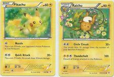 POKEMON Pikachu 26/83 & Raichu RC9/RC32 - TCG Generations - Common MINT/NM