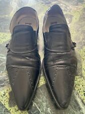 CESARE PACIOTTI LEATHER SHOES FOR MEN SIZE 41 MADE IN ITALY