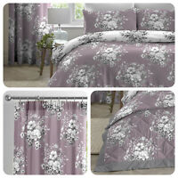 Dreams & Drapes MIRABELLA Lavender Duvet Cover Set & Bedroom Accessories