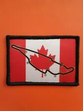 """Canadian Grand Prix Circuit sublimation style iron or sew on 3"""" patch badge F1"""