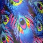 Peacock Feathers, Rainbow Art Psychedelic Pillow Cushion Cover, Chakras, Vision