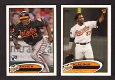 2012 Topps BALTIMORE ORIOLES Team Set w/ Updates 33 Cards Mint