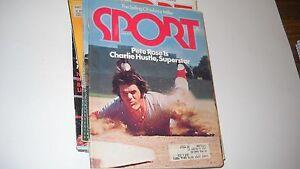 Pete Rose is Charlie Hustle-   Sport Magazine 6/1974