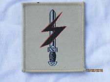 Special Forces Support Group , TRF, Patch, Abzeichen