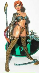 "6"" Female gladiator fantasy Amazon WARRIOR action figure trojan greek soldier"