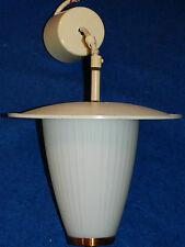 LAMPE de cuisine KITCHEN lamp ART DECO en verre SUSPENSION lustre CUIVRE copper