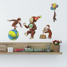 Curious George Storybook Wall Decals 22 Monkey Stickers Kids Room Nursery Decor