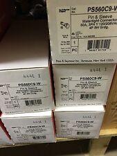 (1) New Pass & Seymour PS560C9-W PIN&SLEEVE GENERATOR 560C9W 60A 120/208V 4P 5W
