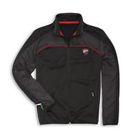 New Ducati Corse Speed Fleece Jacket Men's S Black #987694963