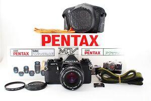 👑Near Mint👑Asahi Pentax MV-1 SLR 35mm Film Camera w/SMC 50mm f2 Lens fromJapan