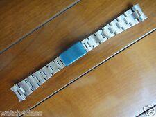 19 mm S/Acier Bracelet Bande Bracelet Pour Rolex # 78350 Oyster Submariner 6694