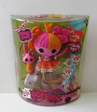 LALALOOPSY PRINCESS NUTMEG FULL SIZE DOLL WITH BUNNY AND BOOKMARK ~ NEW IN BOX ~
