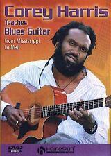 Corey Harris Teaches Blues Guitar Learn to Play Beginner Lesson Music DVD