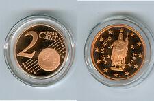 San Marino 2 Cent 2009 PP seulement 13.000 pièce