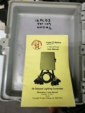 Light O Rama 16 Channel Controller Ctb16Pc G3 30 amp set up
