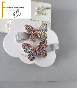 2pcs Baby Girl Hair Clip Beautiful Pair Gift Party Hair Accessory