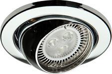 Knightsbridge IP20 12V 50W MAX. L/V CROMO Bulbo Oculare proiettorino da incasso Bridge x1