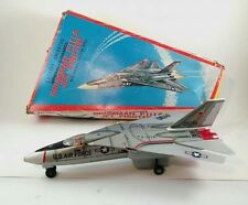 Vintage F-111 Grumman Aardvark Jet Fighter Airplane Tin Litho Japan T-N Nomura
