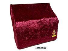 Überwurf / Staubschutzhülle für Akkordeon, 72/80 Bass in Bordeaux