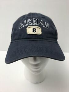 Troy Aikman #8 Cowboys Reebok Hall Of Fame Class Of 2006 Hat Adjustable
