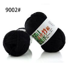 60 Colors Soft Bamboo Crochet Cotton 50g Knitting Yarn Baby Knit Wool Yarn a02