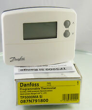 Danfoss TP5000MA Si5/2 Day Programmable Thermostat Hardwired 230V Range 5°-30°C