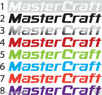 "MASTERCRAFT WAKE BOAT EMBLEM TRAILER GRAPHIC KIT 28"" DECAL STICKERS"