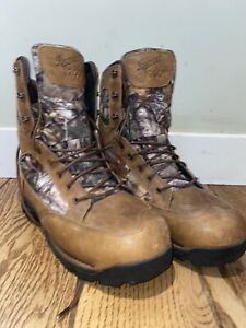 Danner Pronghorn XTRA 1200G insulated goretex Leather Camo REALTREE hunting boot