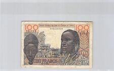 AFRIQUE DE L'OUEST SÉNÉGAL 100 FRANCS 20.3.1961 E.185 K N° 460496329 PICK 701Kb