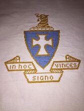 Handmade, Cross Stitch -Sigma Chi Fraternity Crest