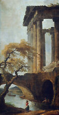Temple of Saturn and the Opening of the Cloaca Maxima Robert Säulen B A3 02293