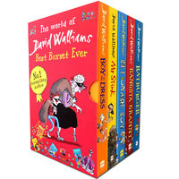 World of David Walliams Collection 5 Book Set Ever NEW Billionaire Boy