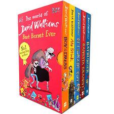 The World of David Walliams: Best Boxset Ever by David Walliams (Paperback, 2013)